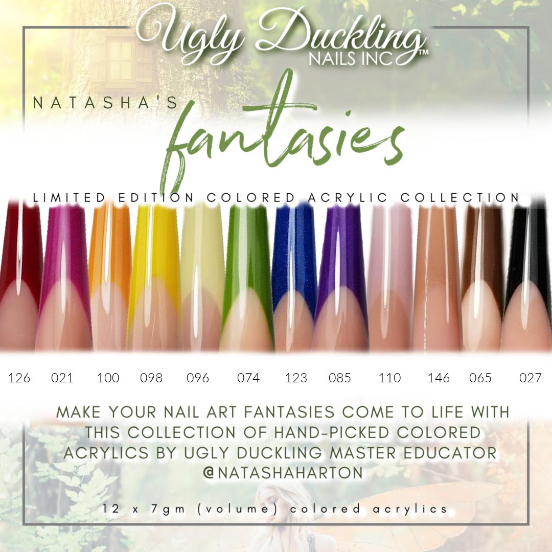 Natasha's Fantasies Colored Acrylics collection