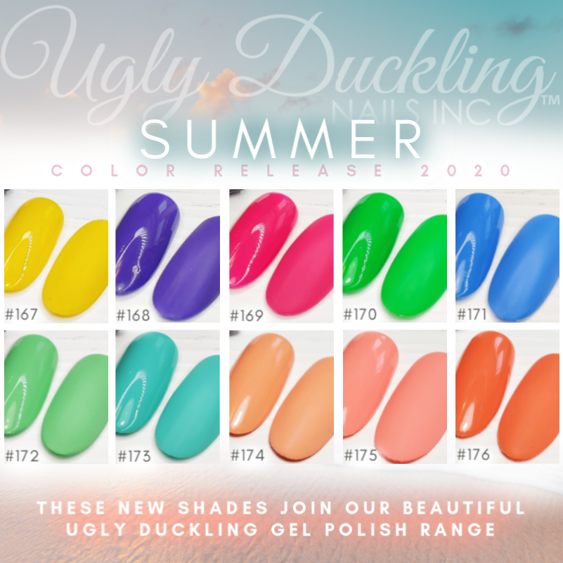 Ugly Duckling Summer Gel Polishes