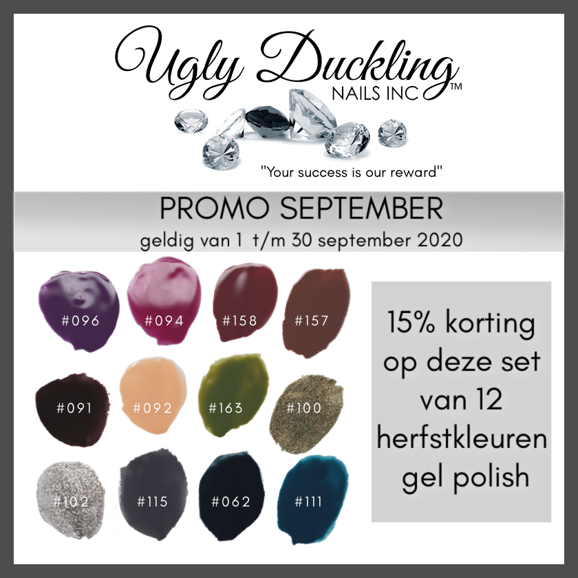 Ugly Duckling September PROMO - Herfst collectie Gel Polish -15%