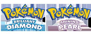 Pokémon Brilliant Diamond en Shining Pearl Logo