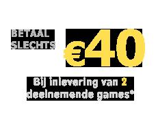 Betaal slechts €40 voor FIFA 22 op PS5 of Xbox Series X bij inlevering van 2 deelnemende games