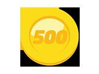 500 Game Mania XP Coins