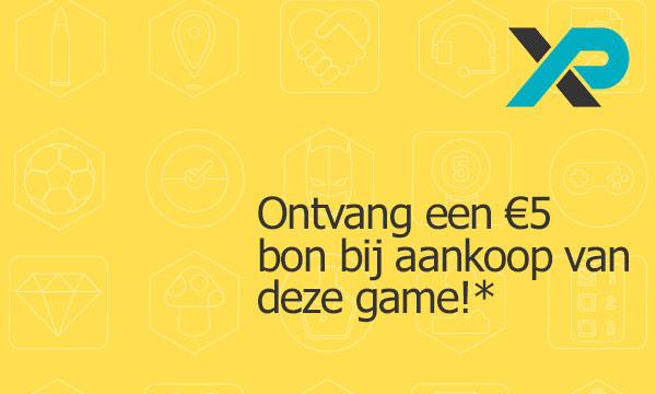 Ontvang een 5 euro bon bij aankoop van deze game