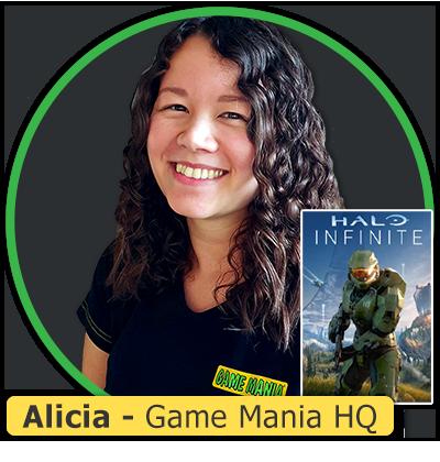 Foto van Alicia van Game Mania HQ