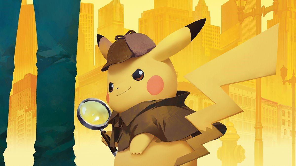 Screenshot van Detective Pikachu