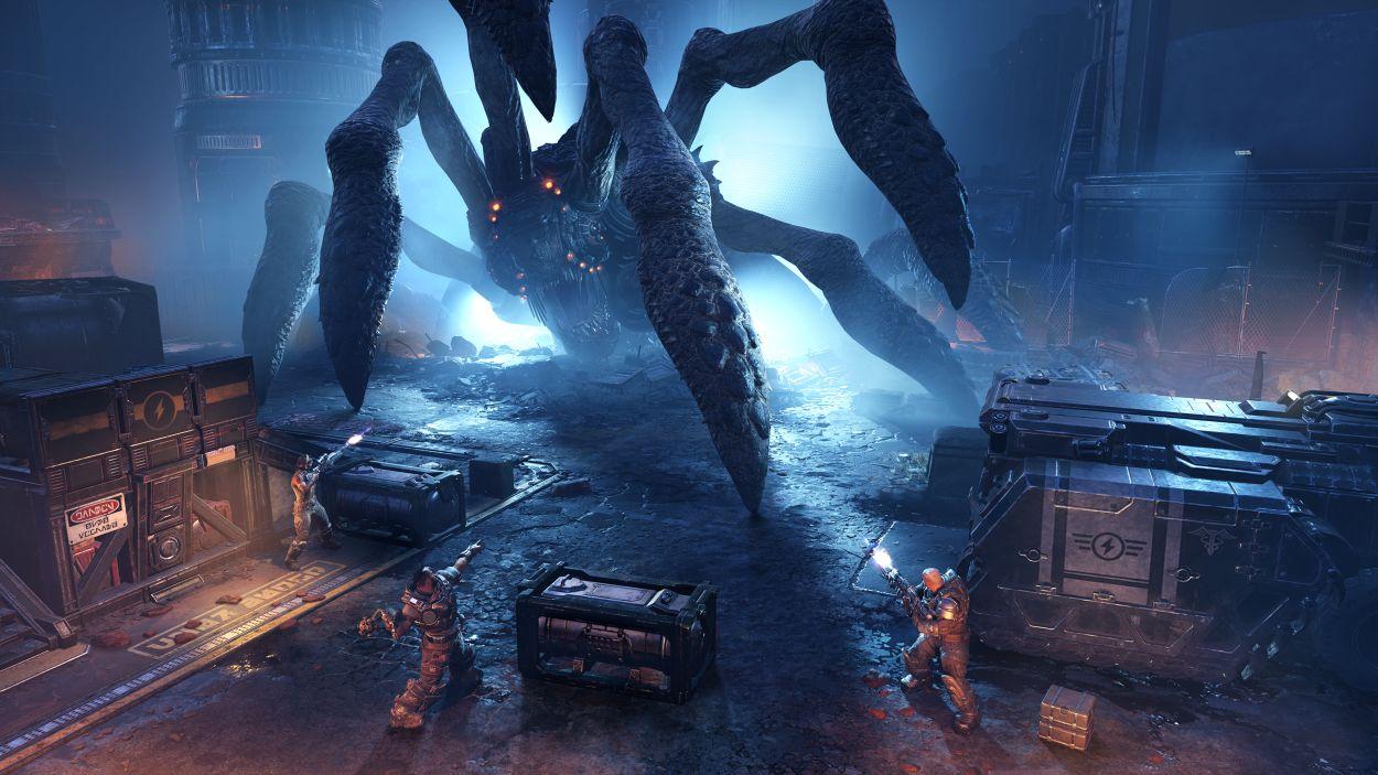 Screenshot van Gears Tactics