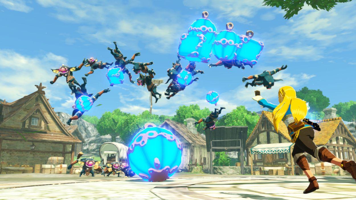Screenshot van Hyrule Warriors: Age of Calamity