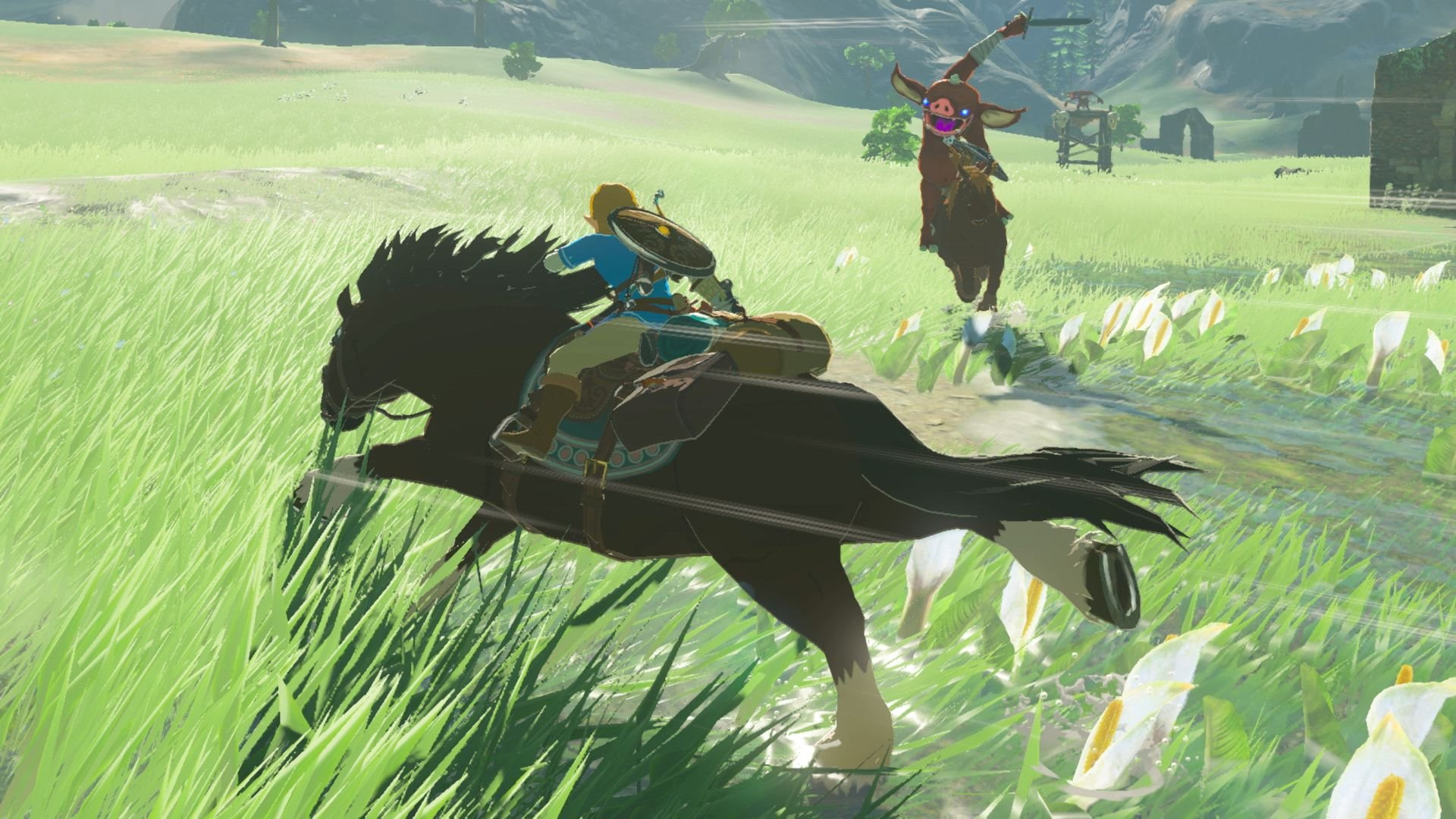 Screenshot The Legend of Zelda: Breath of the Wild