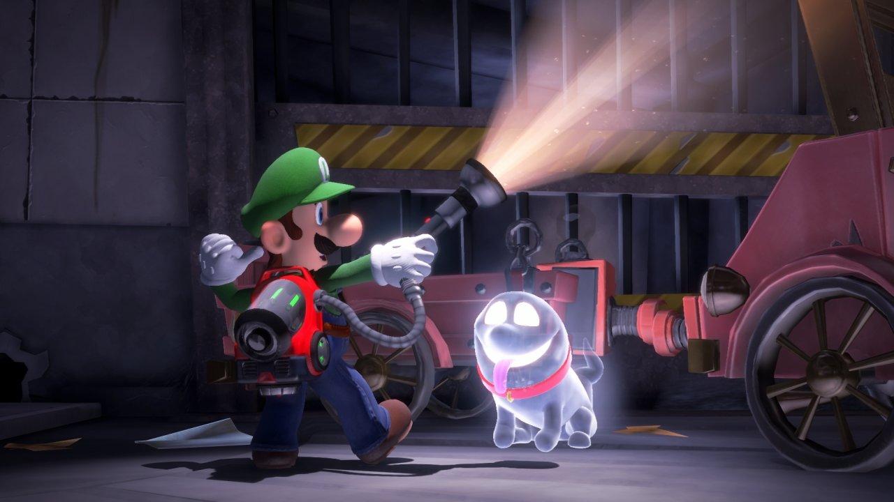 Screenshot Luigi's Mansion 3