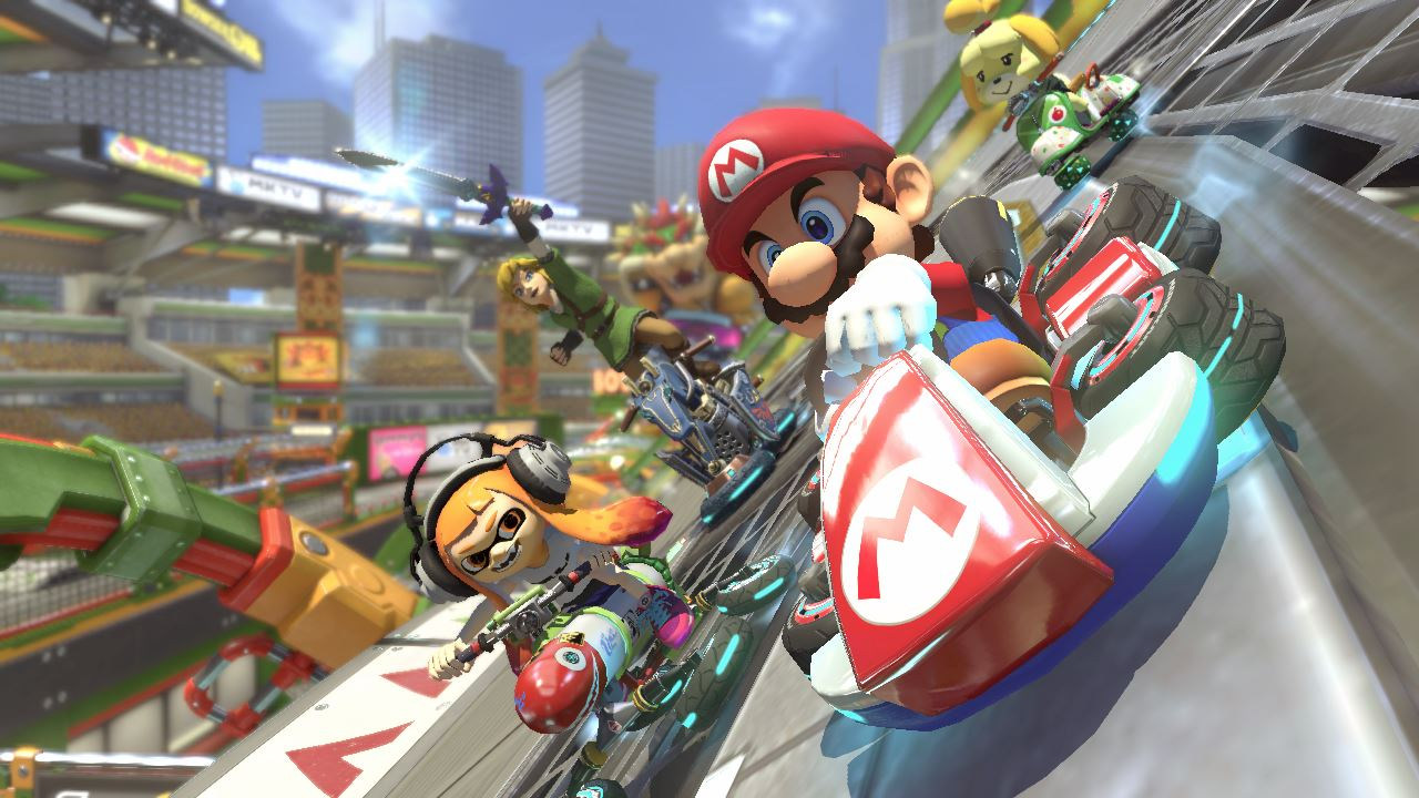 Screenshot Mario Kart 8 Deluxe