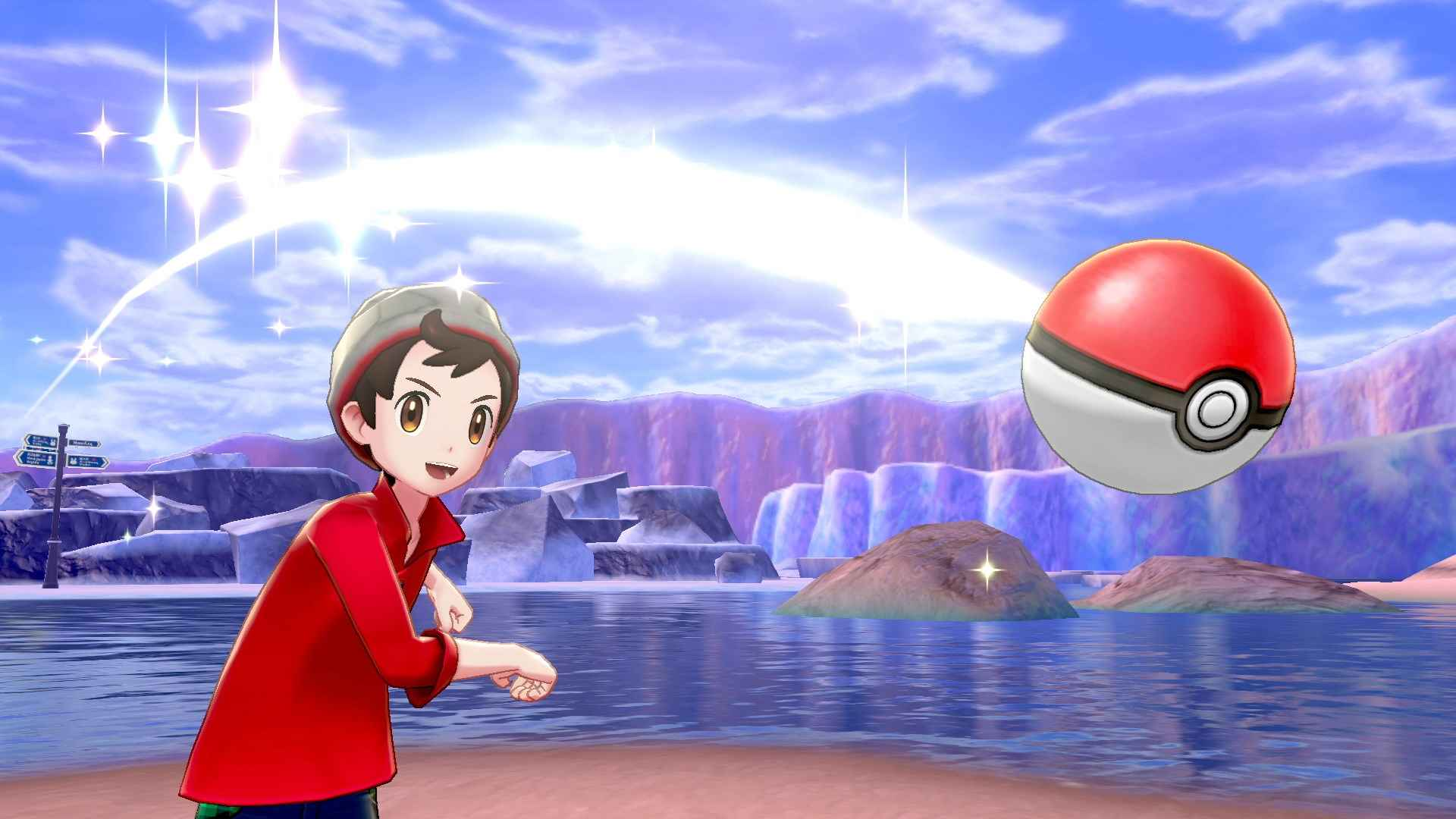 Screenshot van Pokémon Sword & Shield