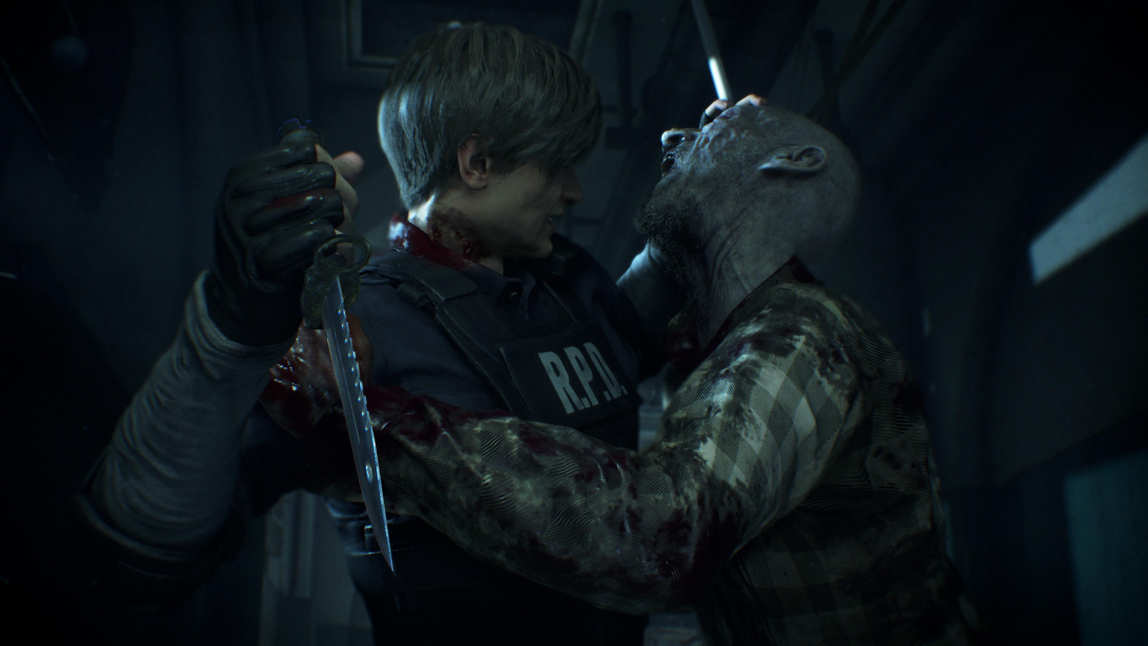 Screenshot van Resident Evil 2