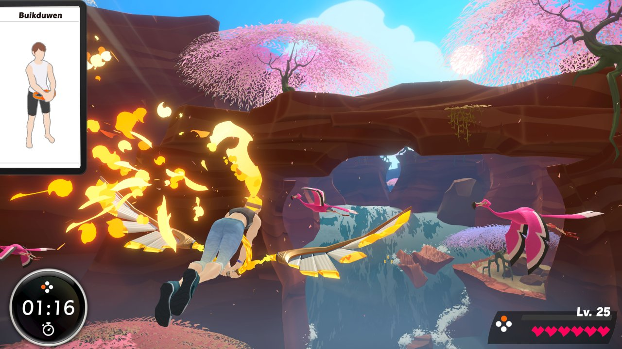 Screenshot van Ring Fit Adventure