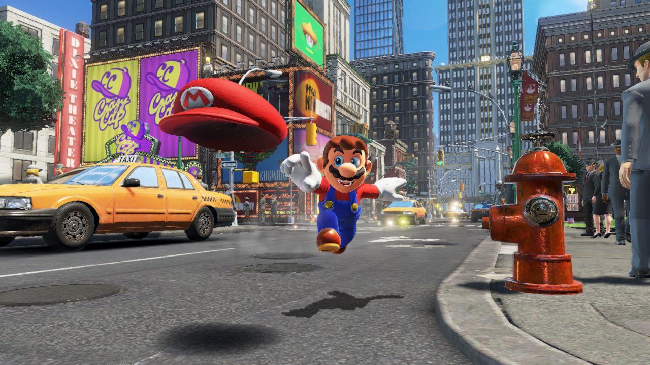 Screenshot Super Mario Odyssey