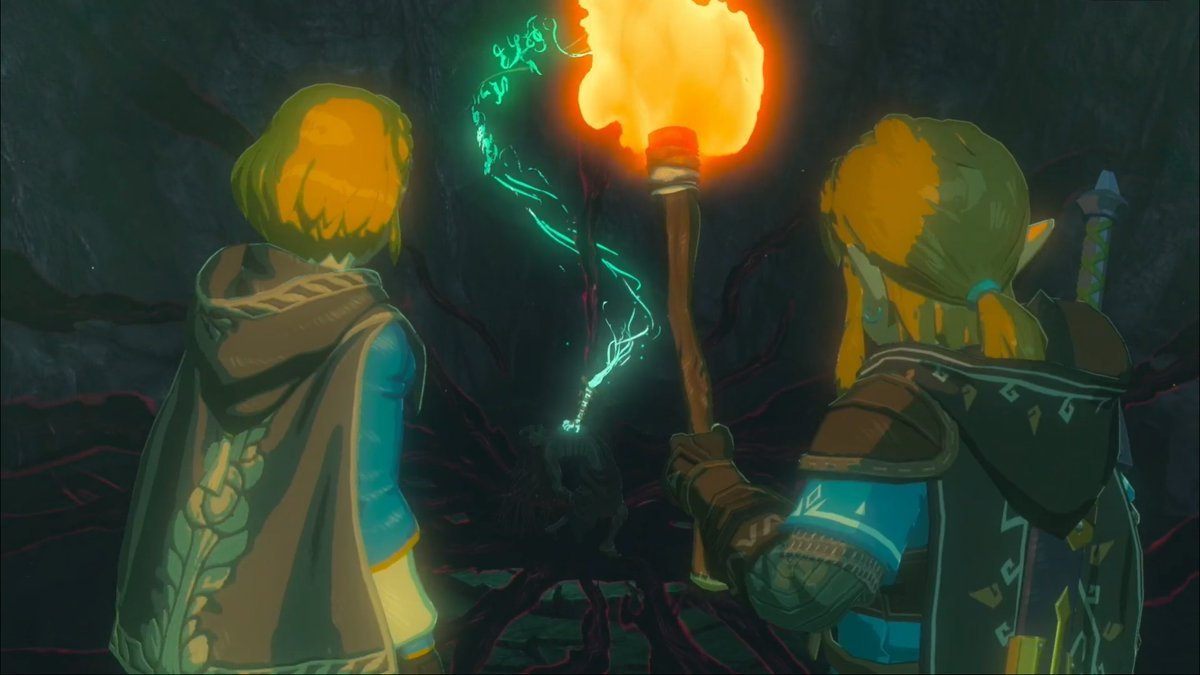 Screenshot van Zelda Breath of the Wild Sequel