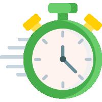 Icoon van een klok