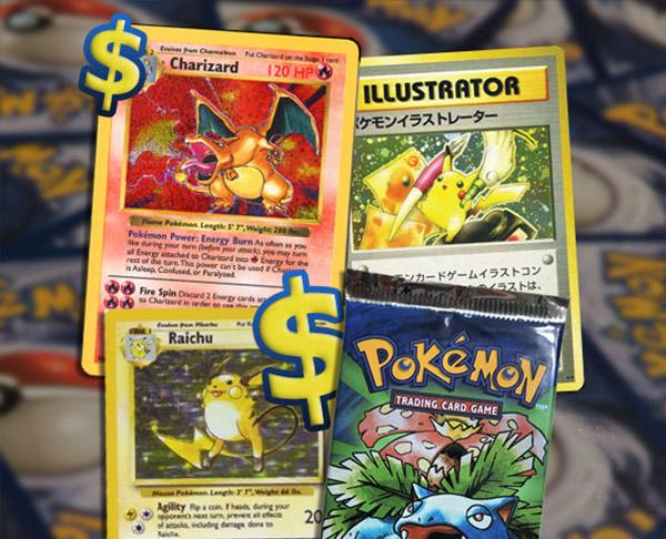 Meest waardevolle Pokemon kaarten banner