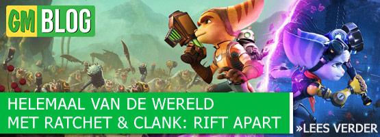 Helemaal van de wereld met Ratchet & Clank Rift Apart