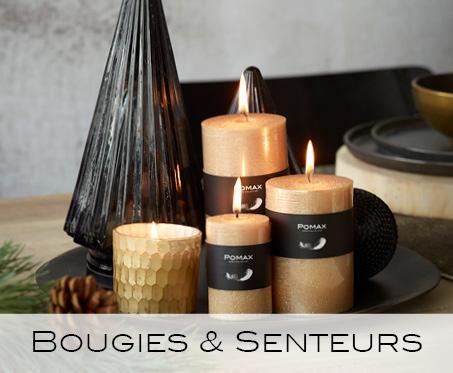 bougies, senteurs
