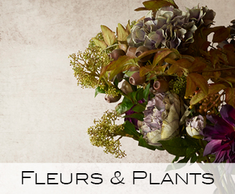 Fleurs, plantes, artificielles,