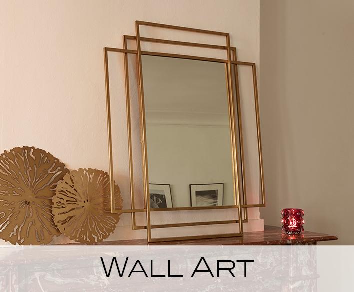 wanddecoratie, spiegels