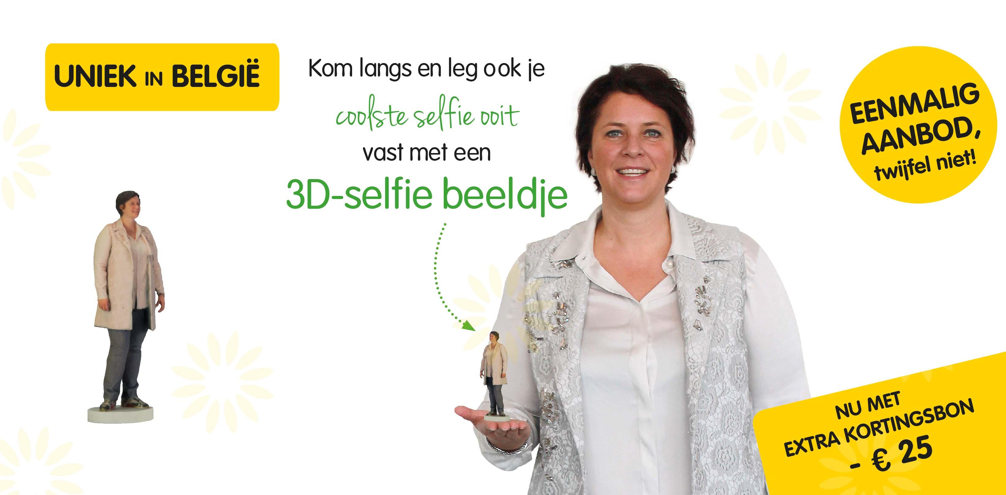 3D selfie beeldjes