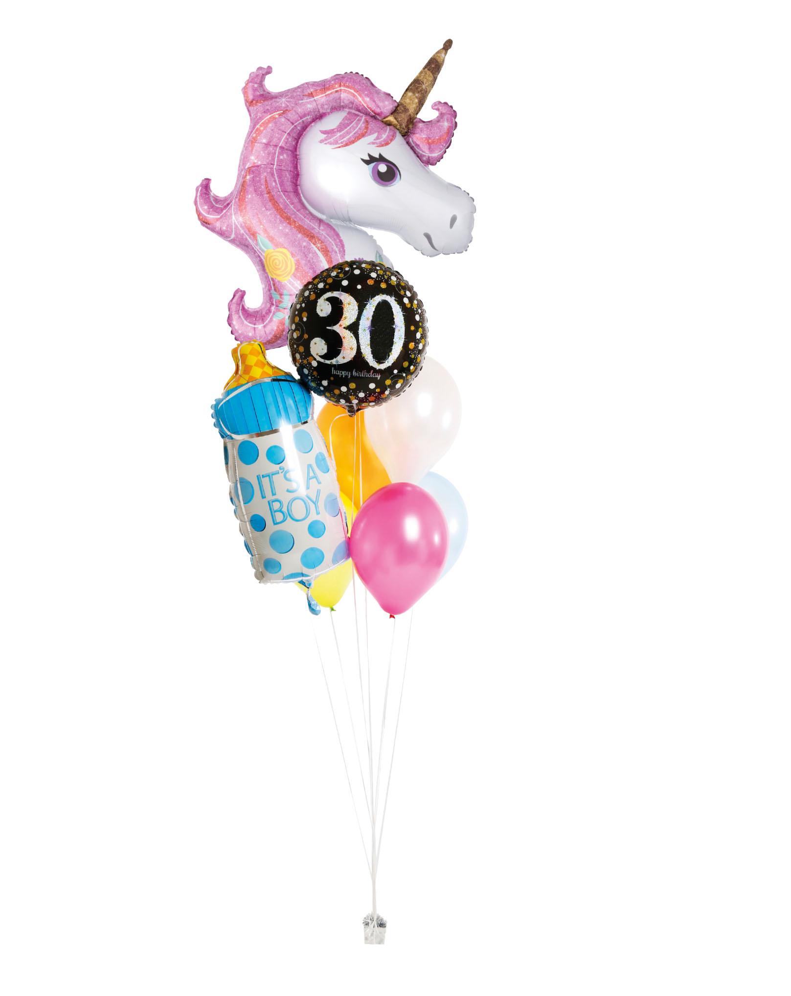 ballons à l'hélium