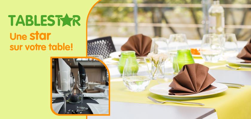 Décoration de table pour professionnels et horeca