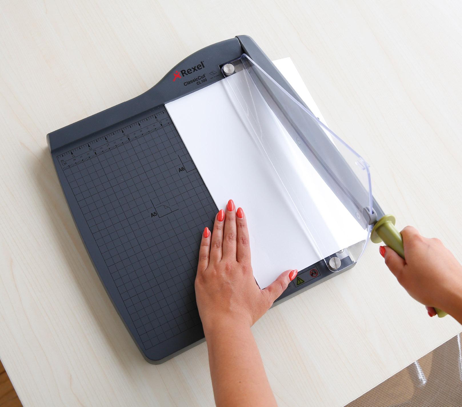 rogneuse de papier professionnelle