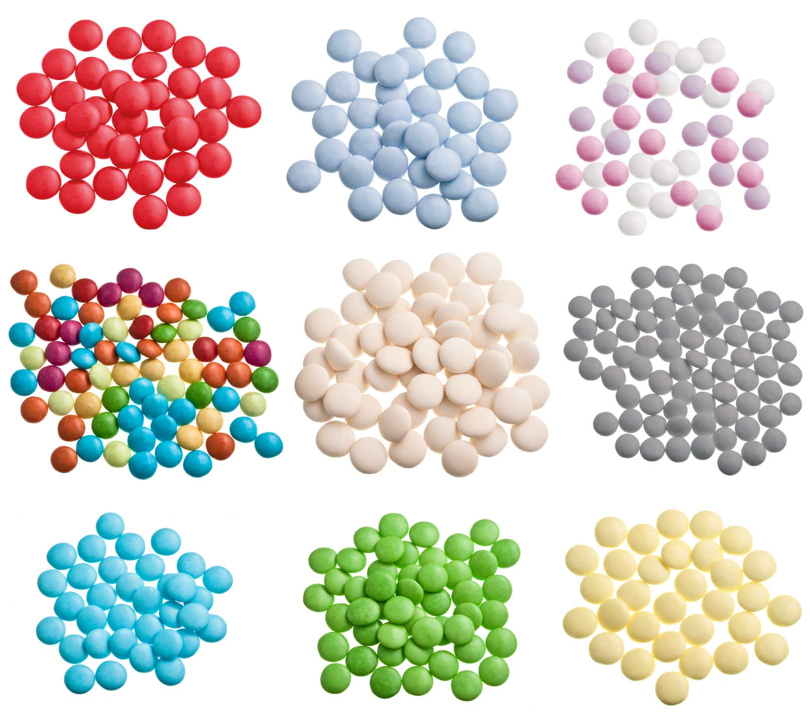 suikerbonen confetti's