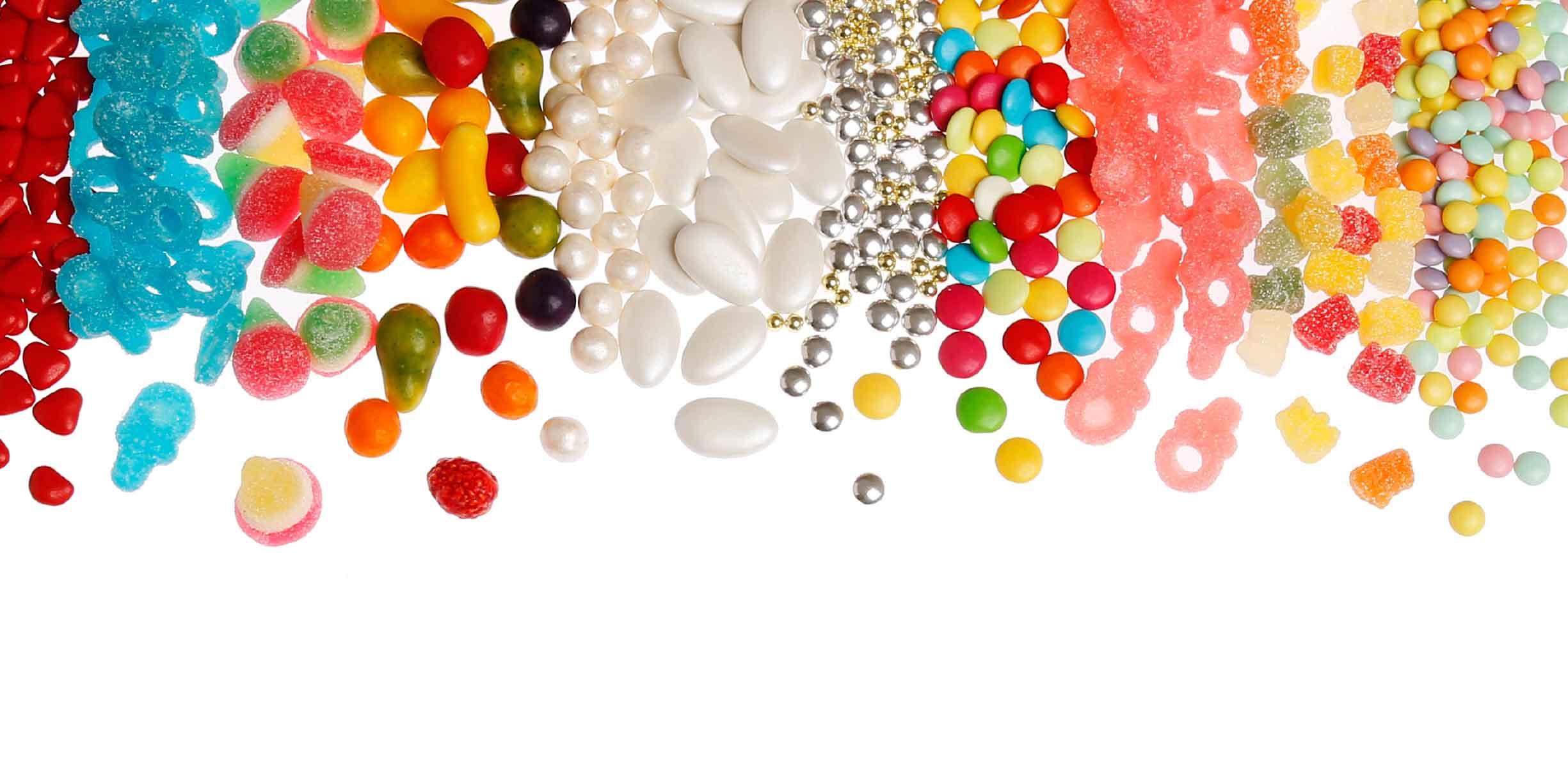 suikerbonen en doopsuiker