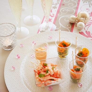 nieuwjaarsreceptie aperitief