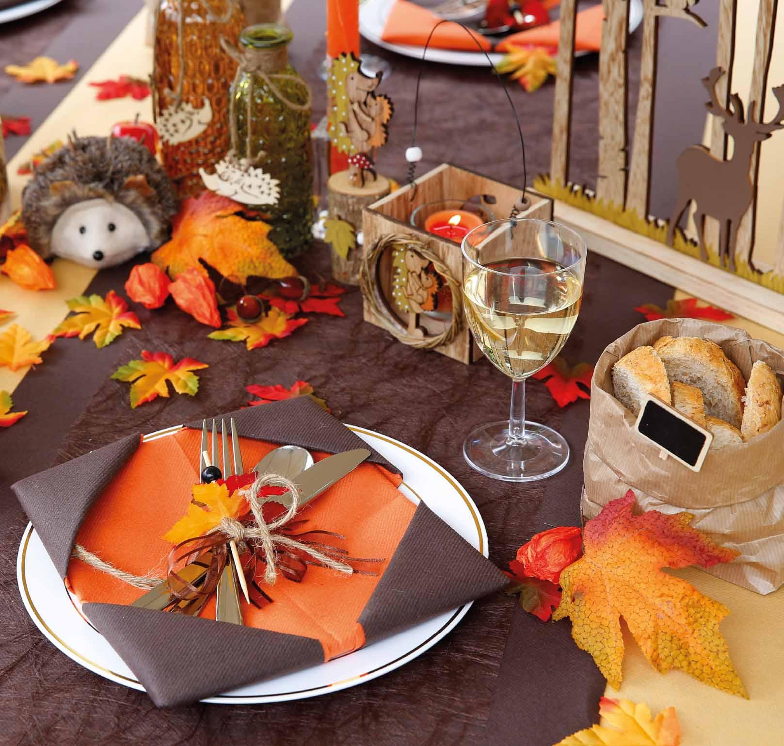 tafel decoreren