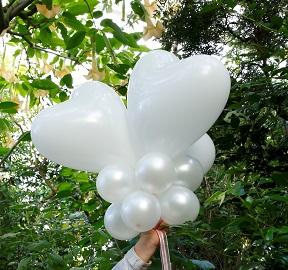 ballonnen trouwfeest