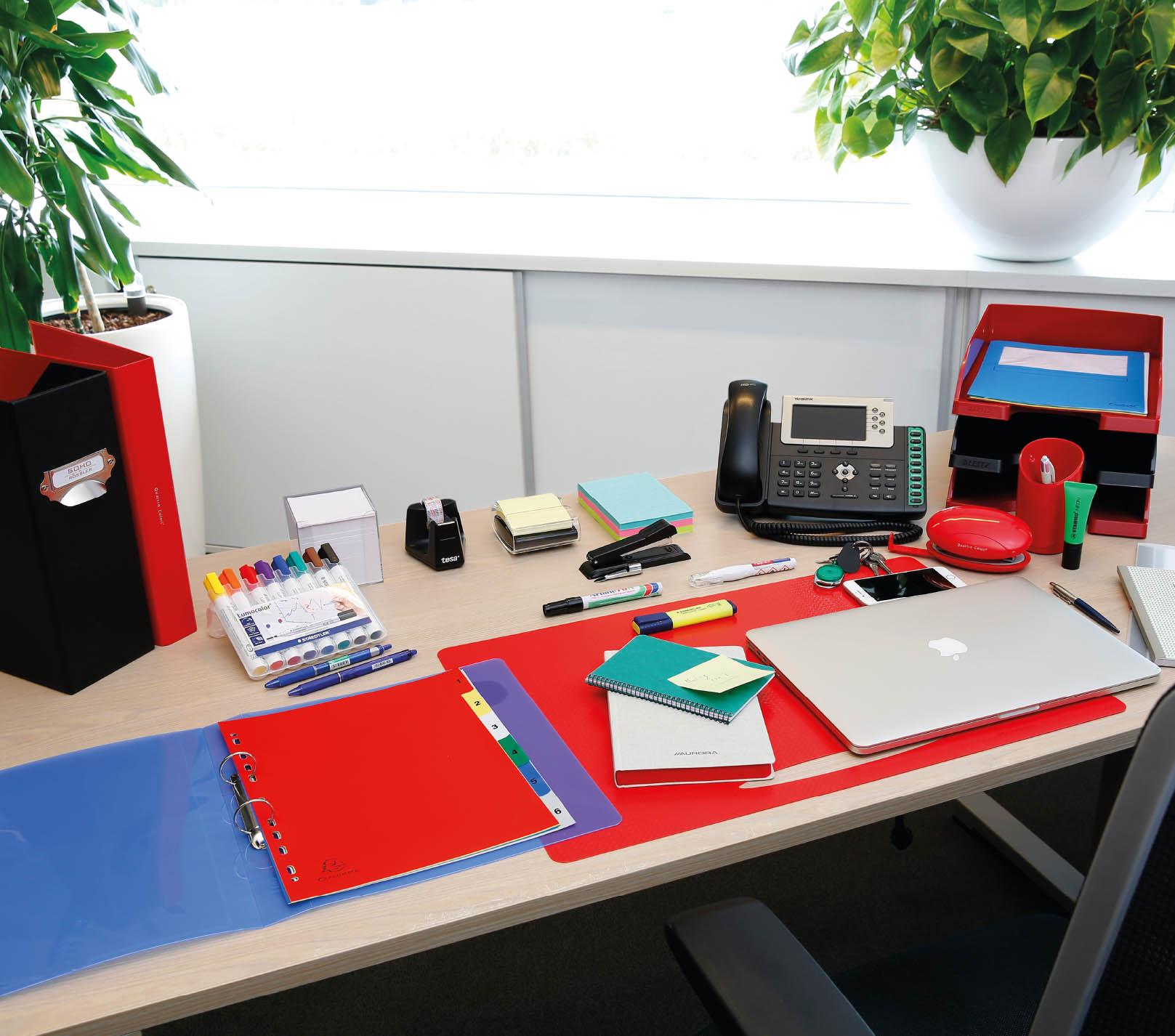 Alles om je bureau perfect in te richten.