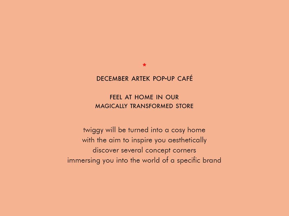 ARTEK at TWIGGY | discover artek
