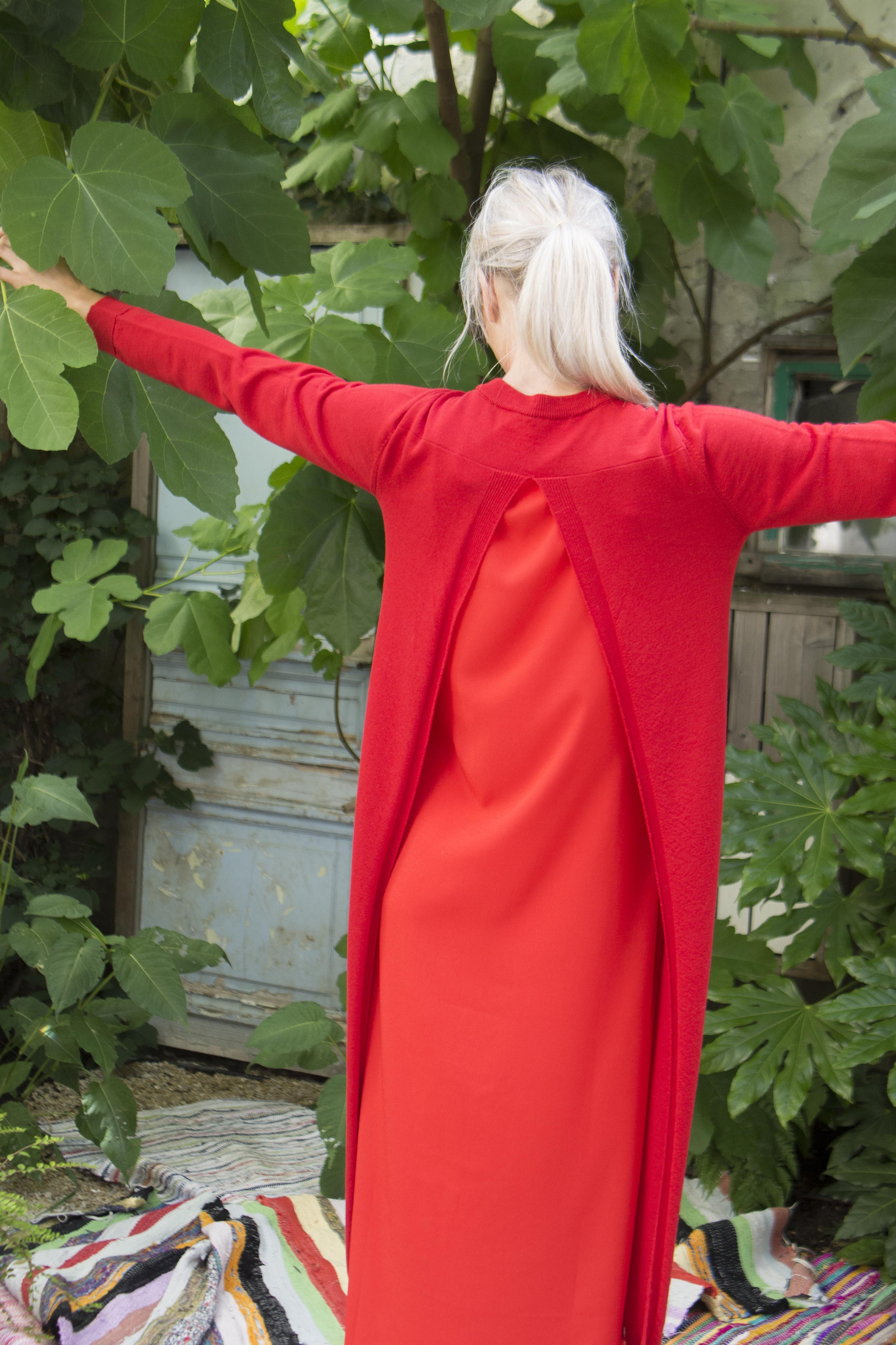 semi couture layer dress