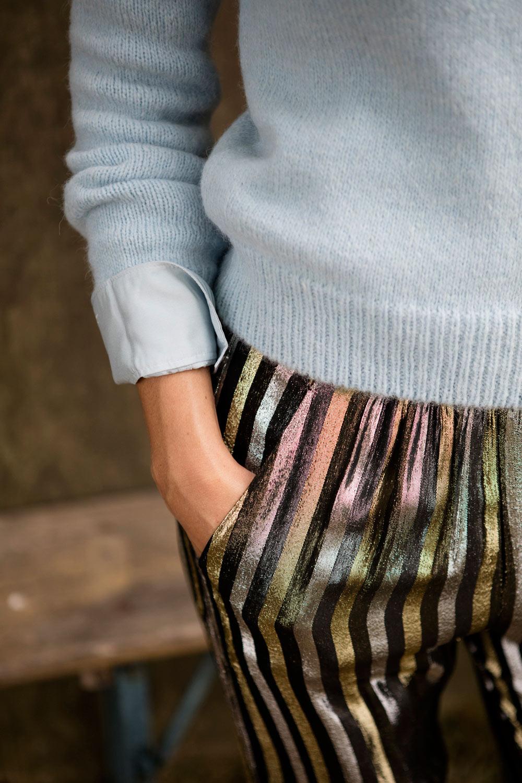 masscob knit and pants