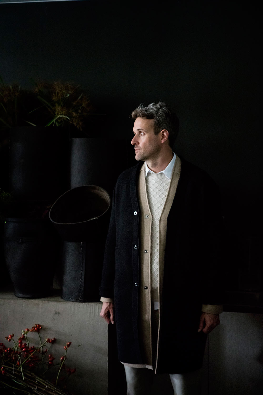 MEWS coat, A.P.C. knit