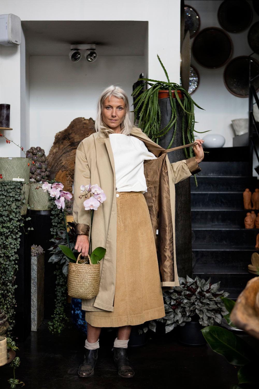 Standalone coat, Rue Blanche top, Masscob skirt, Golden Goose Deluxe Brand boots