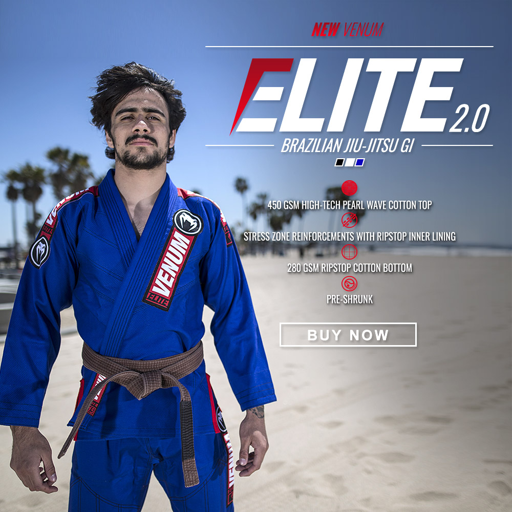 Venum BJJ Elite Collectie