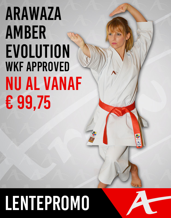 Arawaza Amber Evolution WKF Approved