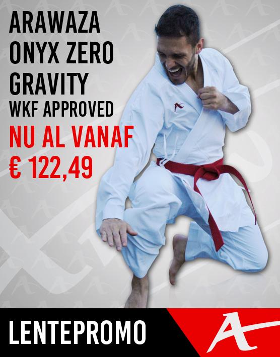 Arawaza Onyx Zero Gravity WKF Approved