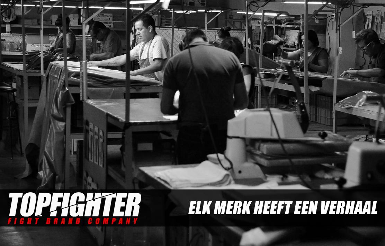 Topfighter / Elk merk heeft een verhaal