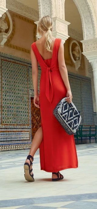 Giovane SS2017 red dress for valentine