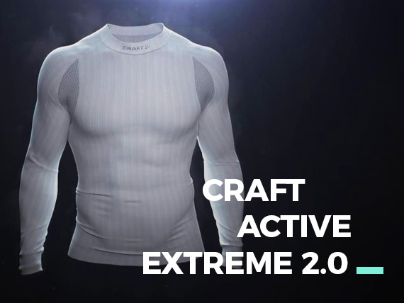 CRAFT ACTIVE EXTREME 2.0 BASELAYER
