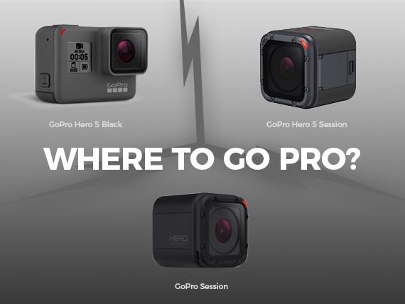 Welk GoPro fototoestel en filmcamera kies jij om te sporten?