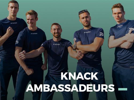 Asics Sportline Club Ambassadeurs met Knack Volley