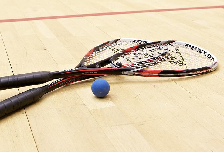 Squashrackets, -ballen - Sportline