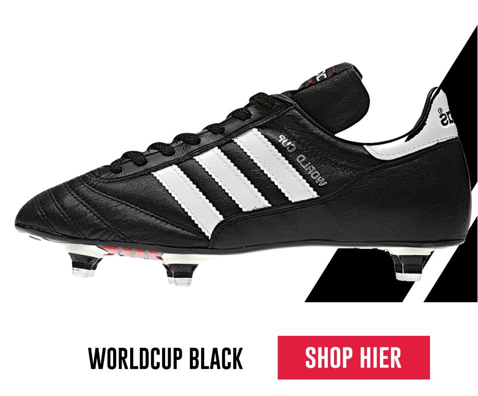 Worldcup black voetbaschoen